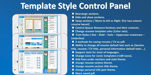 Resume builder Pro  - CV maker Pro Multi-Language 4.6 Screenshots 5