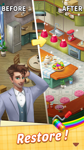 My Mansion u2013 match 3 & design home android2mod screenshots 2