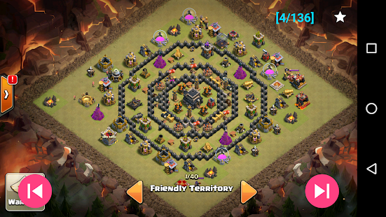 War layouts for Clash of Clans 1.4.1 screenshots 2