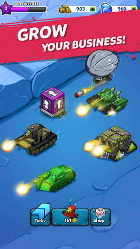 Merge Tanks: Awesome Tank Idle Merger screenshots 11