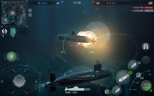 WORLD of SUBMARINES: Navy Warships Battle Wargame Apkfinish screenshots 10