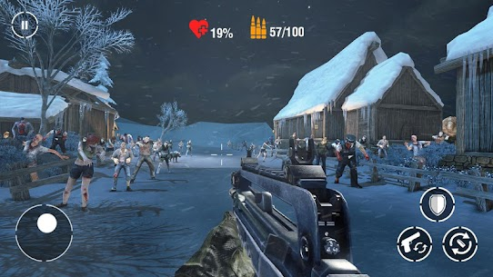 Call of Sniper Zombie Mod Apk (Dumb Enemy) 8