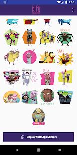 DreamWorks Kipo Stickers