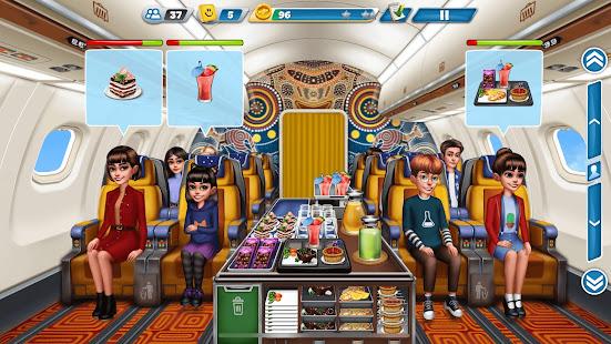 飛行機のシェフ-料理ゲーム