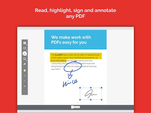 iLovePDF - PDF Editor & Reader 1.4.0 Screenshots 8