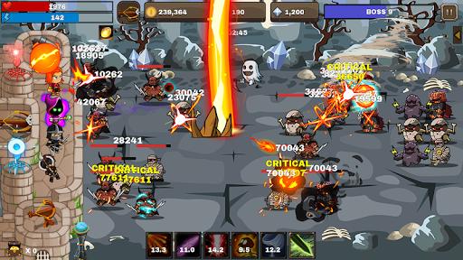 Final Castle Defence : Idle RPG apkslow screenshots 1