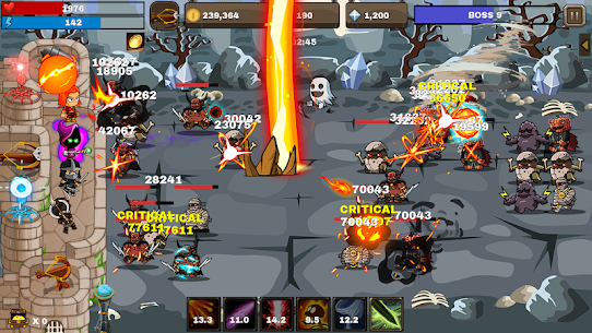 Final Castle Defence : Idle RPG 1