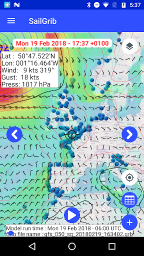 Marine Weather | SailGrib Free 2.0.1 Screenshots 3