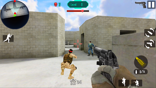 Gun Shoot War v 8.2 Мод (Unlimited gold coins) 3