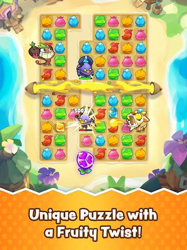 Matchfruit Monsters - Match Puzzle Adventure! screenshots 12