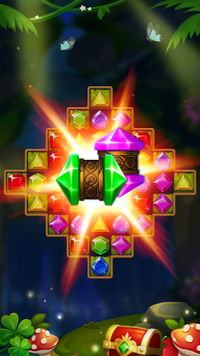 Jewels Forest : Match 3 Puzzle apkpoly screenshots 9