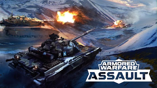 Armored Warfare: Assault Tanks! Screenshot