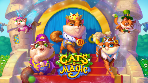 Cats & Magic: Dream Kingdom  screenshots 2