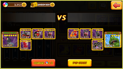 Larva Heroes: Battle League screenshots 3