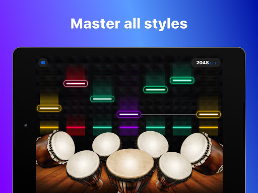 Drums: real drum set music games to play and learn 2.18.01 screenshots 16