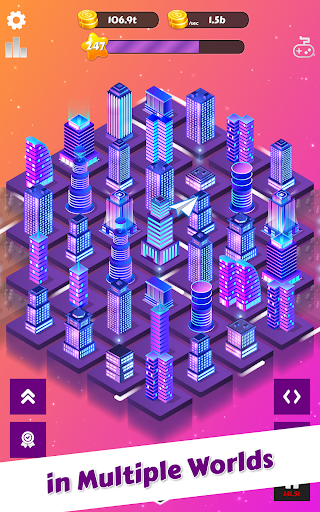 Merge City: idle city building game  screenshots 10