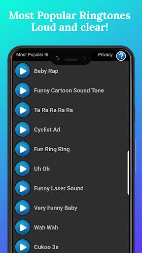 Most Popular Ringtones  screenshots 1