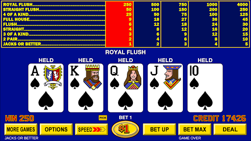 Video Poker - Classic Casino Games Free Offline 1.5.0 screenshots 9