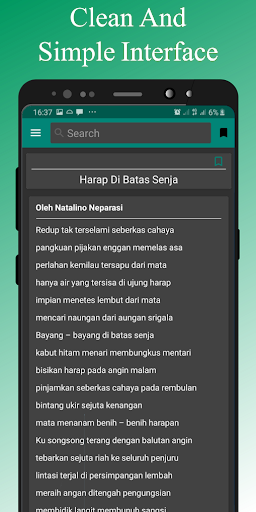 Kumpulan Puisi modavailable screenshots 9