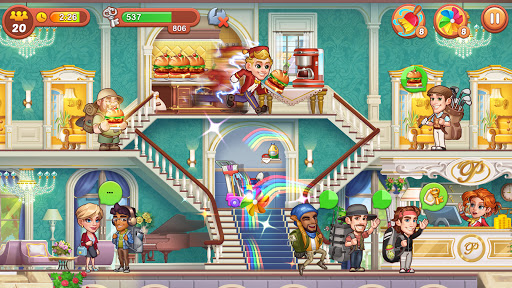 Hotel Fever: Grand Hotel Tycoon Story  screenshots 3