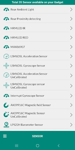 gadget report screenshot 3