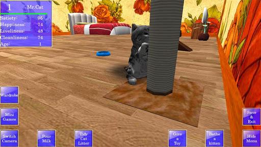 Cute Pocket Cat 3D 1.2.2.3 screenshots 5