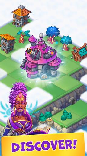 Mergest Kingdom: Merge Puzzle apkpoly screenshots 5