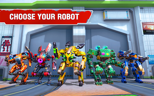 Star Robots. Mech war Screenshot