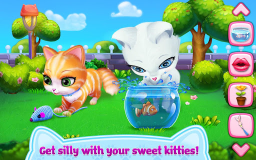Kitty Love - My Fluffy Pet android2mod screenshots 2