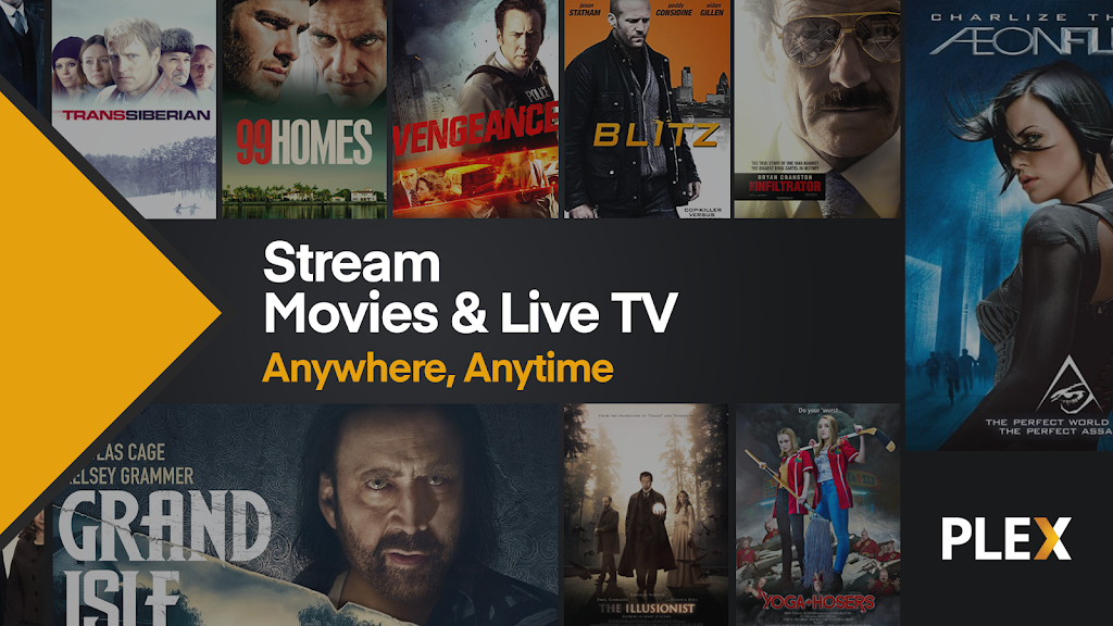 Plex: Stream Free Movies & Watch Live TV Shows Now poster 0