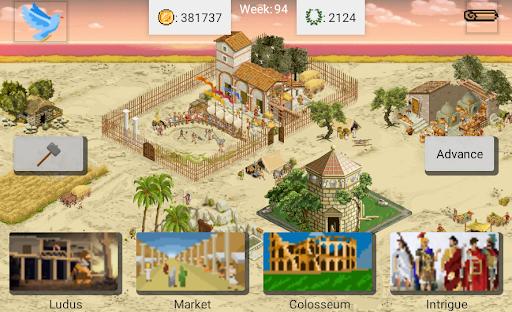 Gladiator manager  screenshots 2