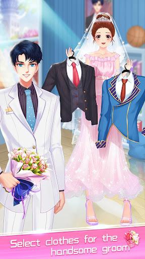 ud83dudc70ud83dudc92Anime Wedding Makeup - Perfect Bride 2.6.5052 screenshots 12