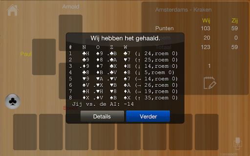 Klaverjas HD Free 9.70 screenshots 5