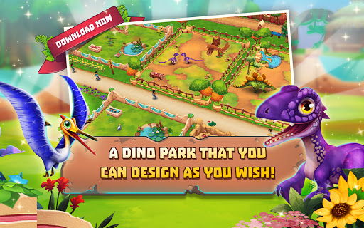 Dinosaur Park u2013 Primeval Zoo apkpoly screenshots 9