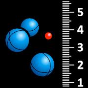 Booble - measure the distance bowls/jack
