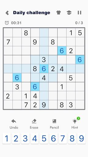Sudoku Friends - Wake Up Your Brain Daily apkdebit screenshots 1