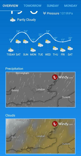 Weather Forecast (free & no ads) 1.33 Screenshots 3