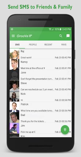 GrooVe IP VoIP Calls & Text 4.3.1 Screenshots 2