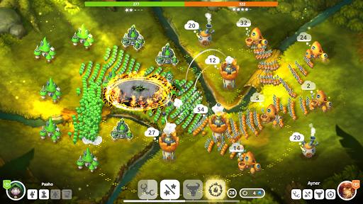Mushroom Wars 2: RTS Tower Defense & Mushroom War apkpoly screenshots 5