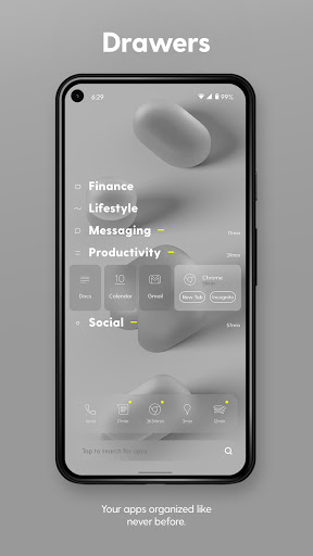 Ratio - The Productivity & Focus Launcher android2mod screenshots 2