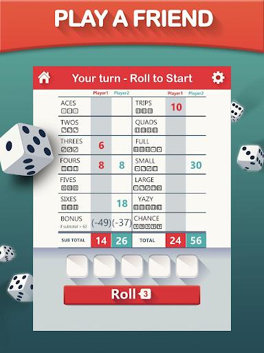 Yazy the best yatzy dice game 1.0.34 screenshots 9