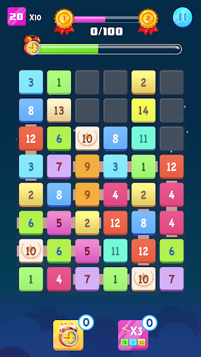 Number Blocks - Merge Puzzle 1.18.2 screenshots 2