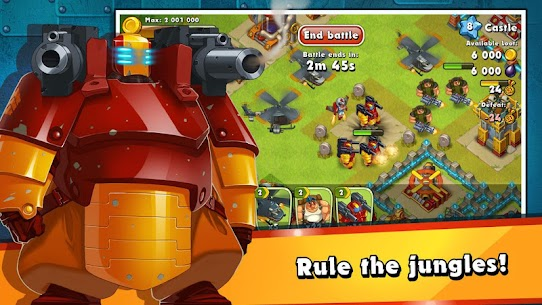 Jungle Heat: War of Clans 2.1.5 Apk 5