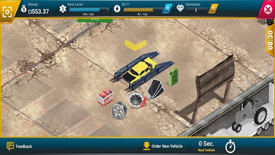 Junkyard Tycoon - Car Business Simulation Game Screenshot