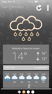 Weather Clock 4