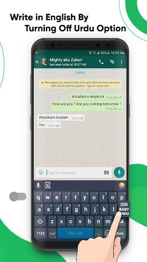 Easy Urdu Keyboard 2021 - u0627u0631u062fu0648 - Urdu on Photos 4.7 Screenshots 5