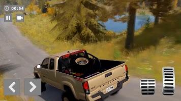 Offroad Pickup Truck Driving Simulator