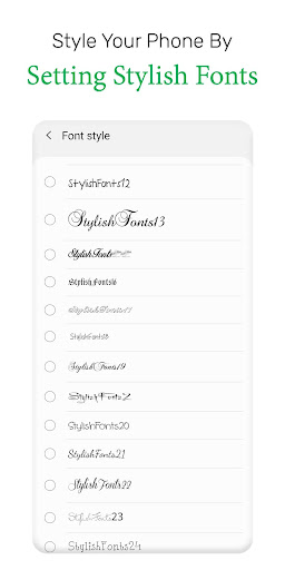 Stylish Fonts & Keyboard  screenshots 5