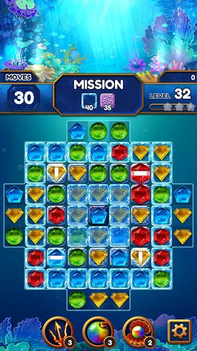 Under the Deep Sea: Jewel Match3 Puzzle screenshots 21