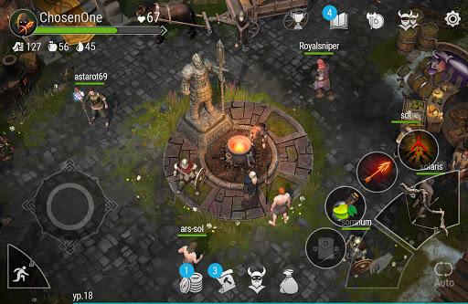 Frostborn: Coop Survival apktram screenshots 3